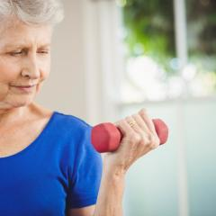 older women exercising